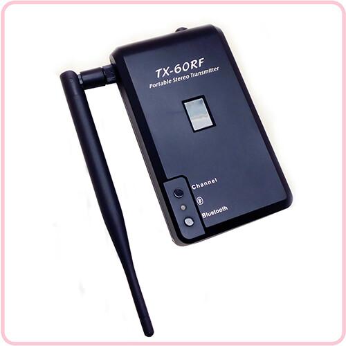 TX 60RF Bovenkant - Gebruiksaanwijzing Transmitters
