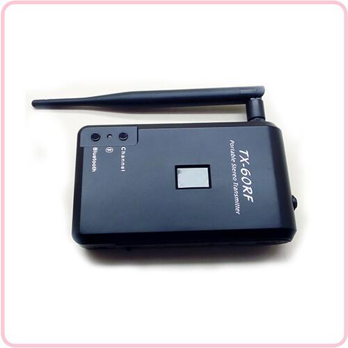 TX 60RF Zijkant - Gebruiksaanwijzing Transmitters